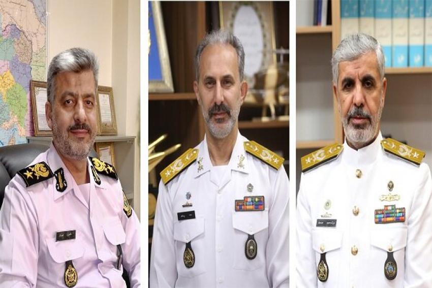 سه فرمانده ارتش مفتخر به دریافت درجه از دست فرمانده کل قوا شدند