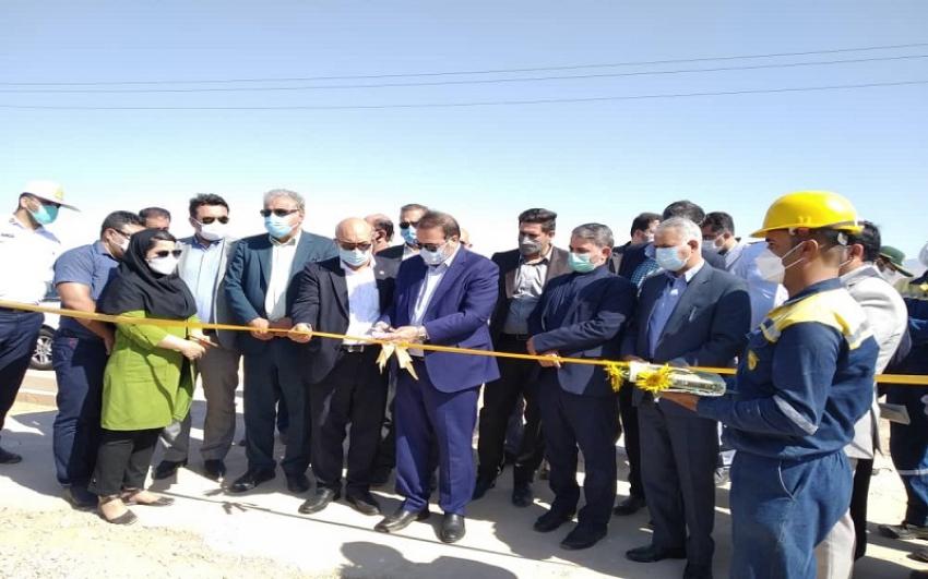 افتتاح دو طرح عمرانی و صنعتی با اعتبار ۸۰میلیارد ریال