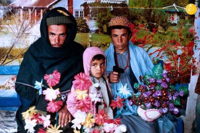 عکسهایی نادر از عناصر طالبان با آرایش