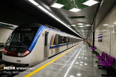 افزایش ۲۰ درصدی نرخ بلیت مترو از امروز