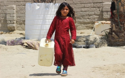 بهره برداری از فاز اول برنامه نذر آب ۴ جمعیت هلال احمر فارس