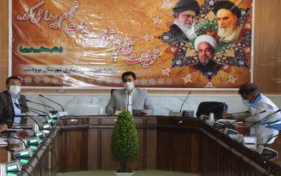 اعمال محدودیت های کرونایی در شهرستان مرودشت