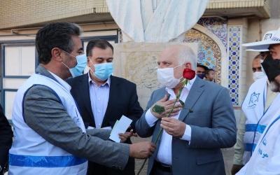 بازدید و تقدیر شهردار شیراز از همیاران مهربان ترافیک