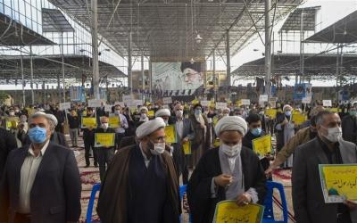 اعتراض مردم شیراز به اهانت نشریه فرانسوی به پیامبر اعظم(ص)