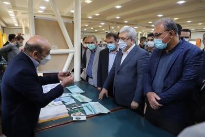 رونمایی از ۱۹ محصول دانش بنیان در دانشگاه علوم پزشکی شیراز با حضور معاون علمی و فناوری ریاست جمهوری